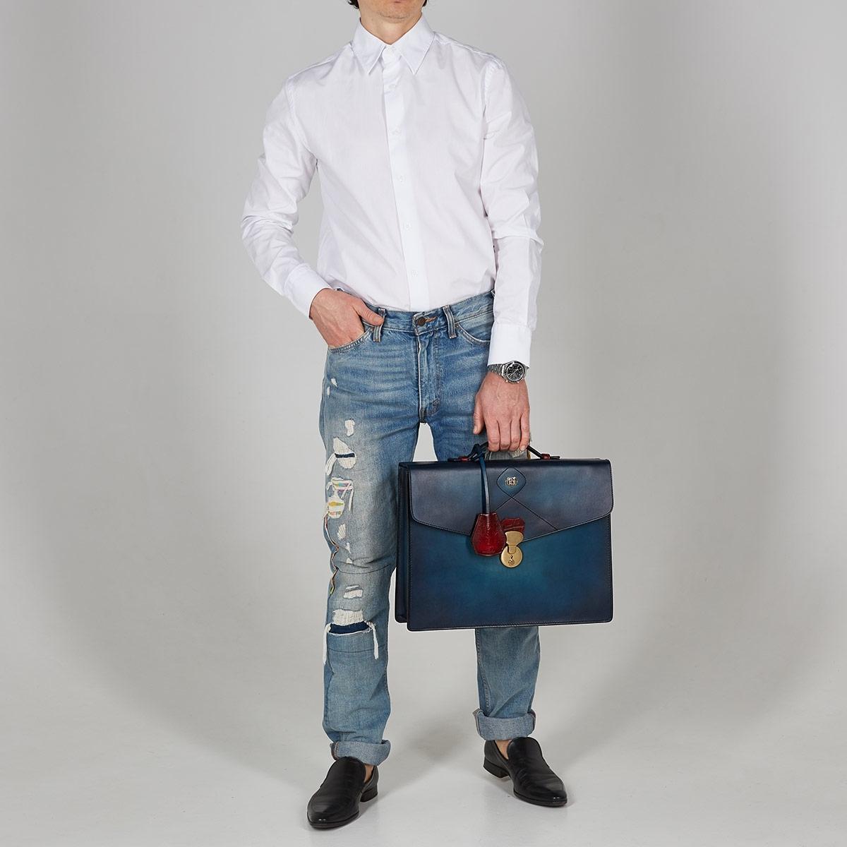 Портфель ELEGANCE красная смородина & голубой сапфир