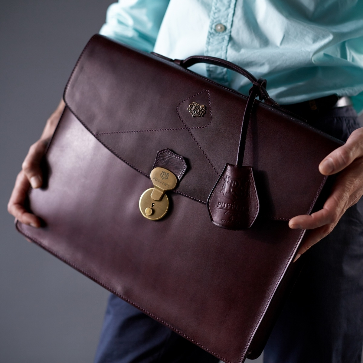 Briefcase ELEGANCE bordeaux