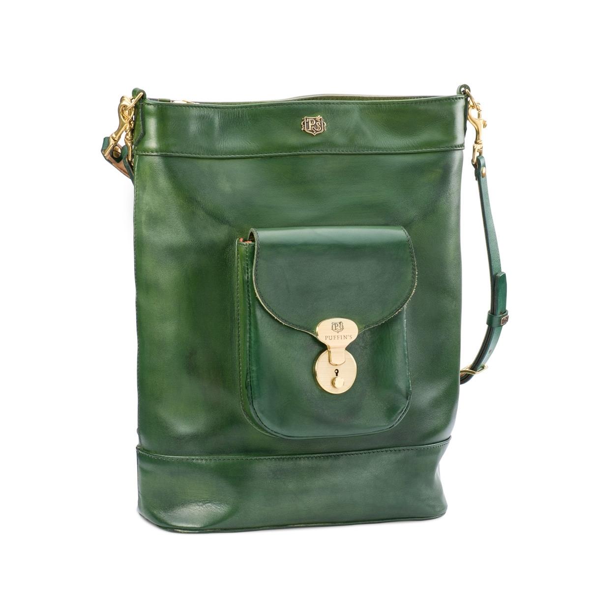 Сумка-рюкзак VOYAGE зеленая травяная