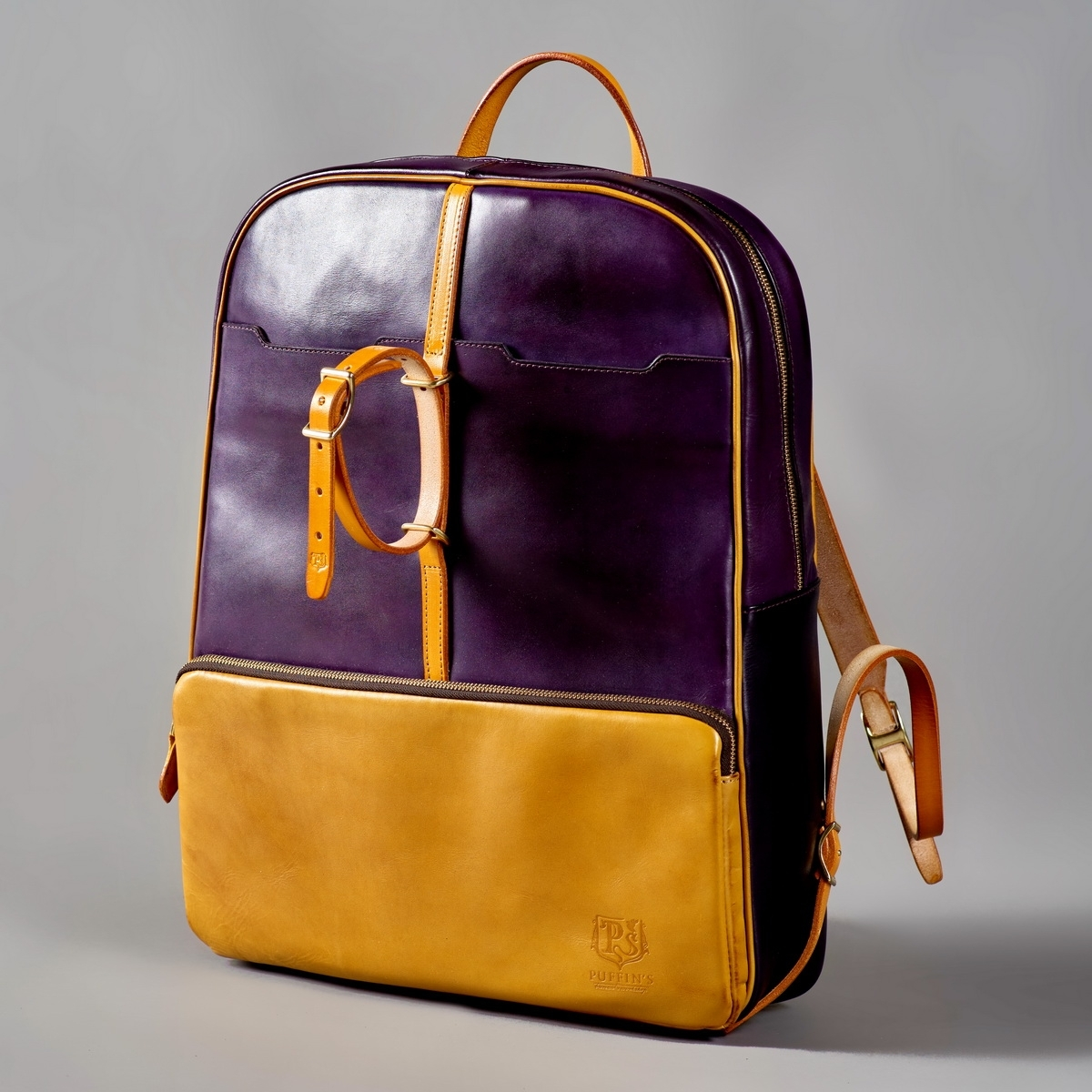 Backpack GRAN TURISMO 17'' bright mustard & violet ink