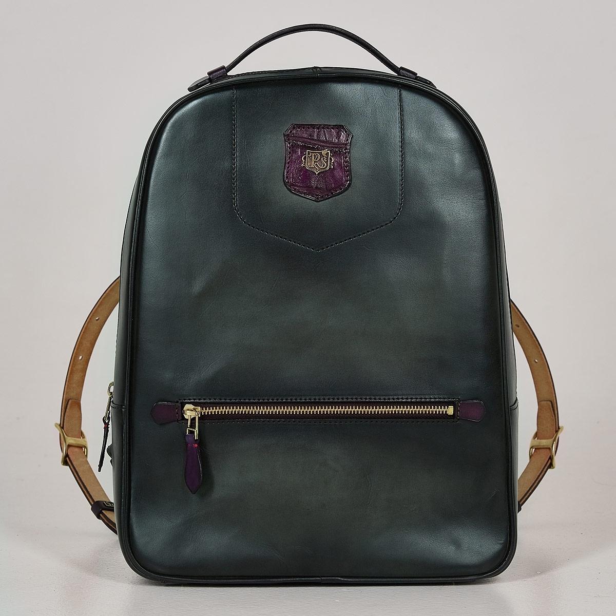 City backpack ASPEN plum wine & dark agave