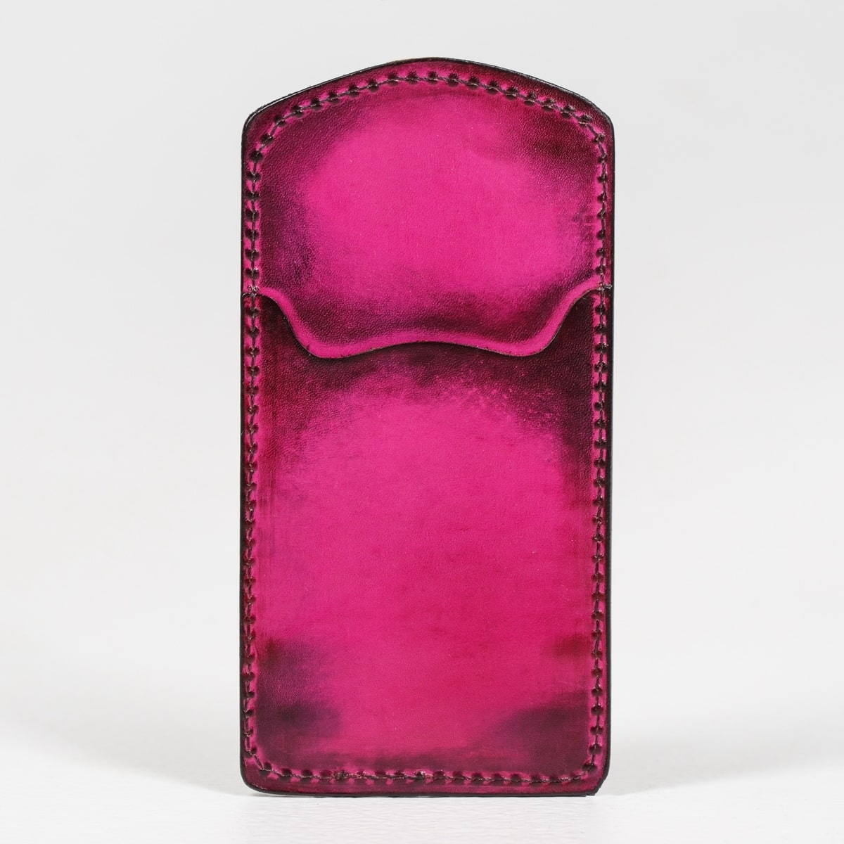 Cardholder TOWER magenta & bordeaux
