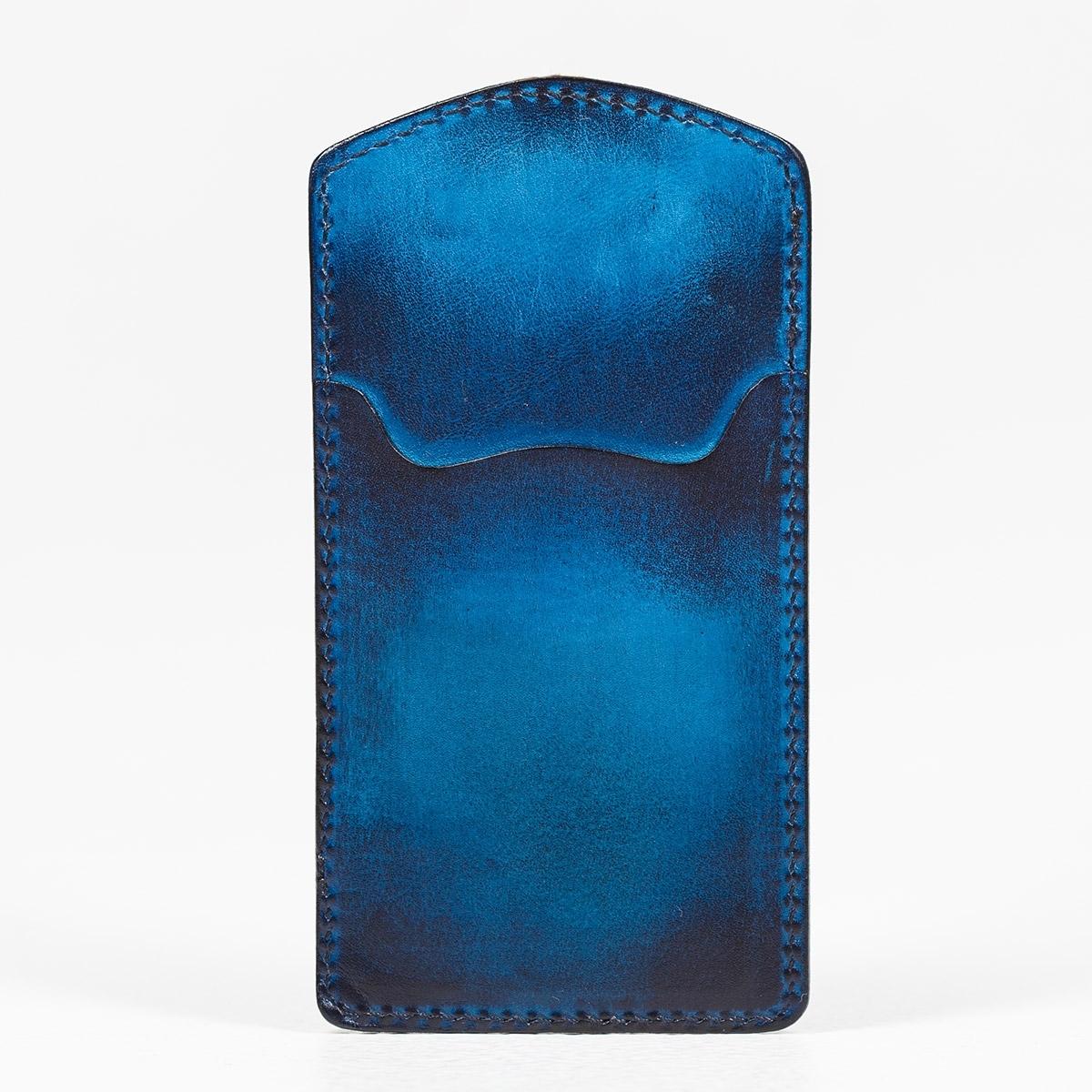 Кардхолдер TOWER каштановый & голубой сапфир