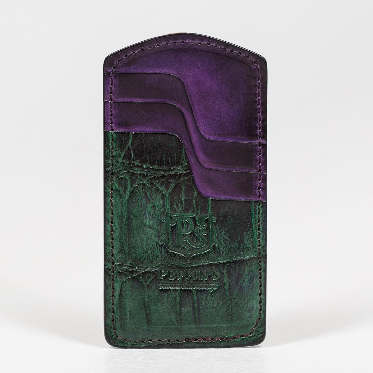 Кардхолдер TOWER ALLIGATOR зеленый травяной & чернильный