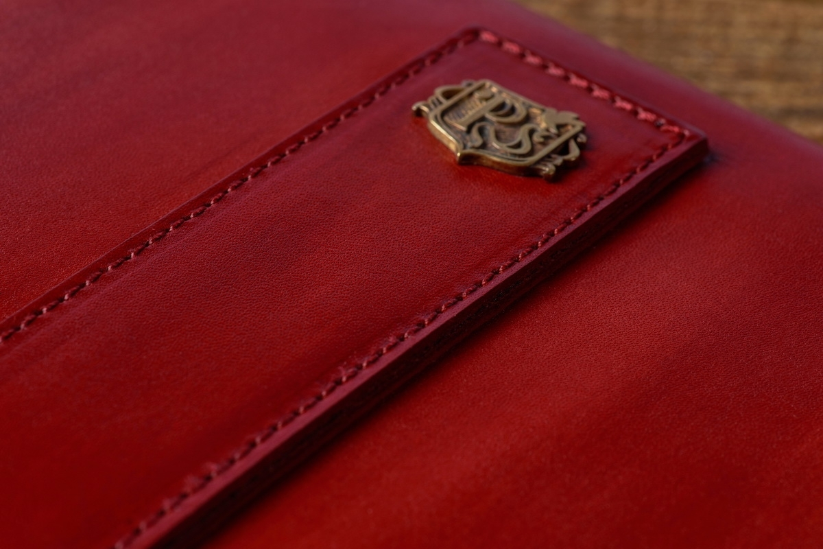 Document folder SOHO / 13'' MacBook case red currant