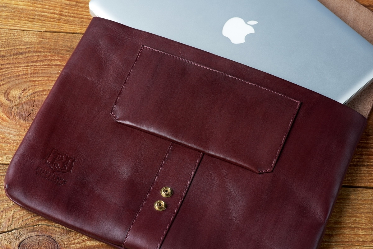 Document folder SOHO / 13'' MacBook case bordeaux