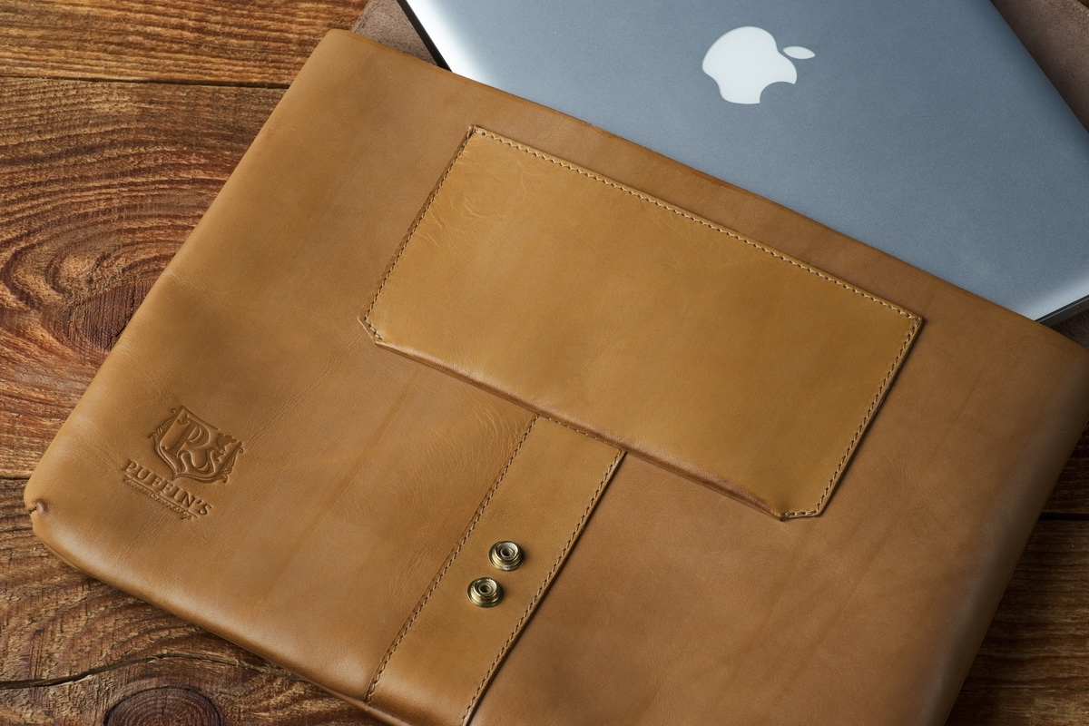 Document folder SOHO / 13'' MacBook case bright mustard