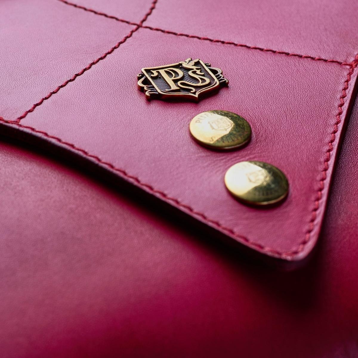 Женский клатч LOTUS пурпурный
