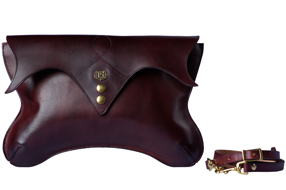 Ladies clutch LOTUS bordeaux