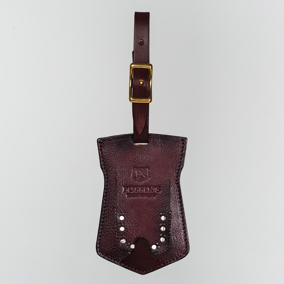 Luggage tag TAVARUA bordeaux