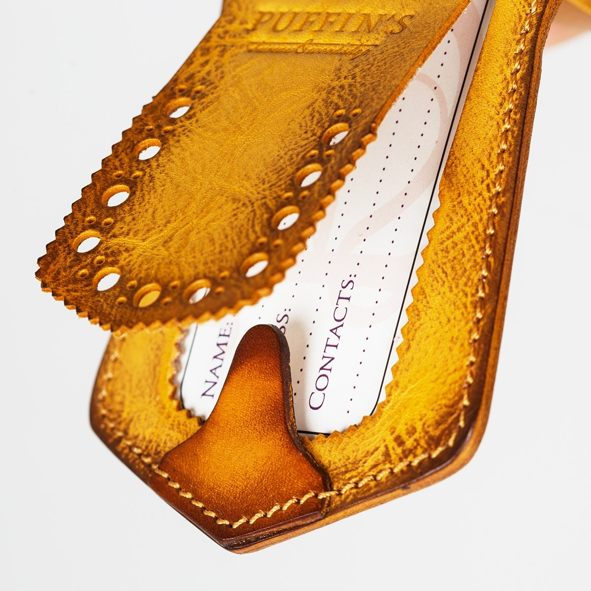 Luggage tag TAVARUA bright mustard
