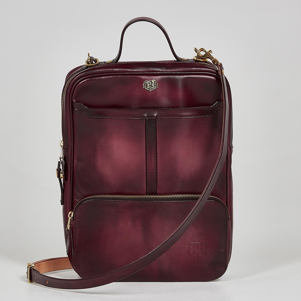 Crossbody bag-transformer CHELSEA bordeaux