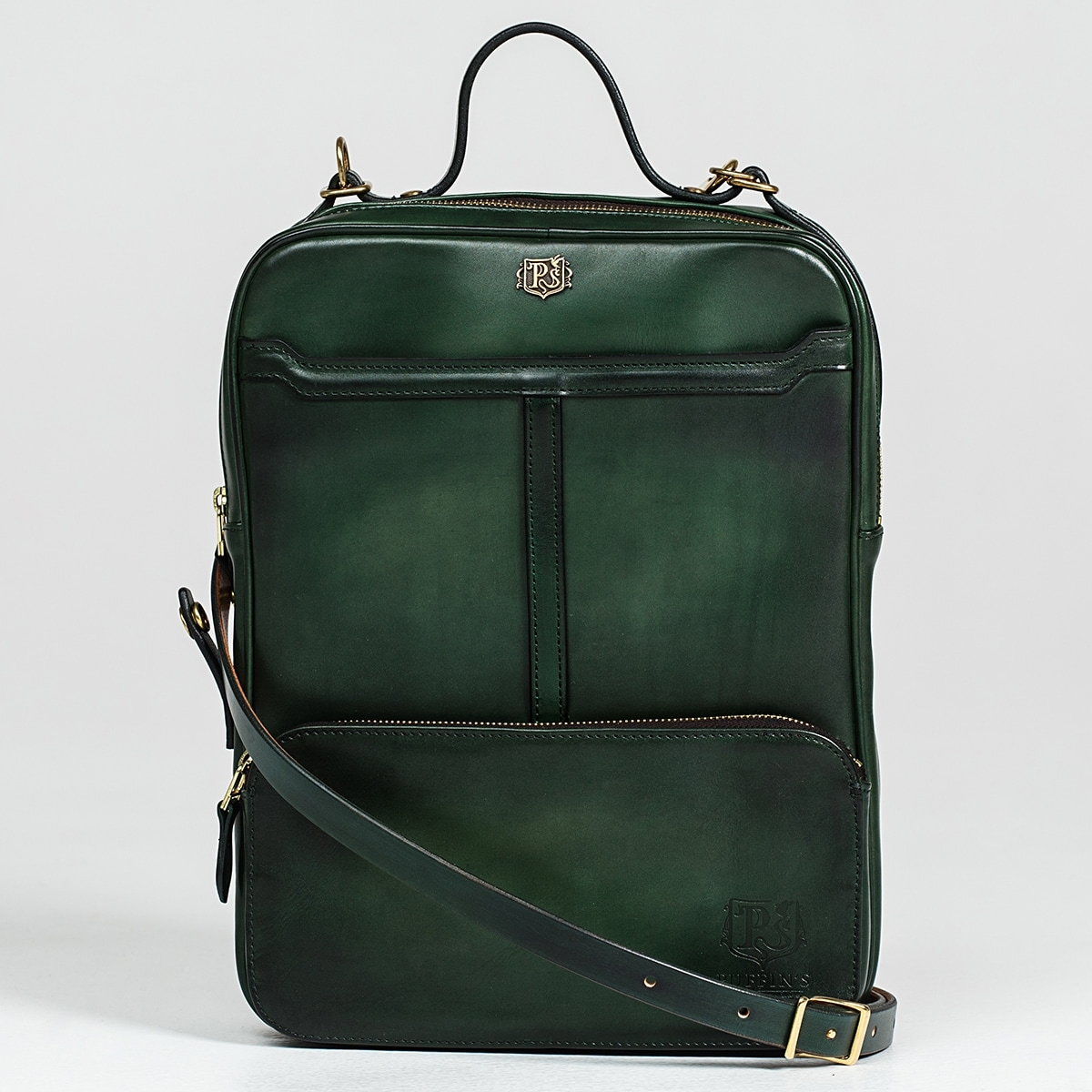 Crossbody bag-transformer CHELSEA grassy green