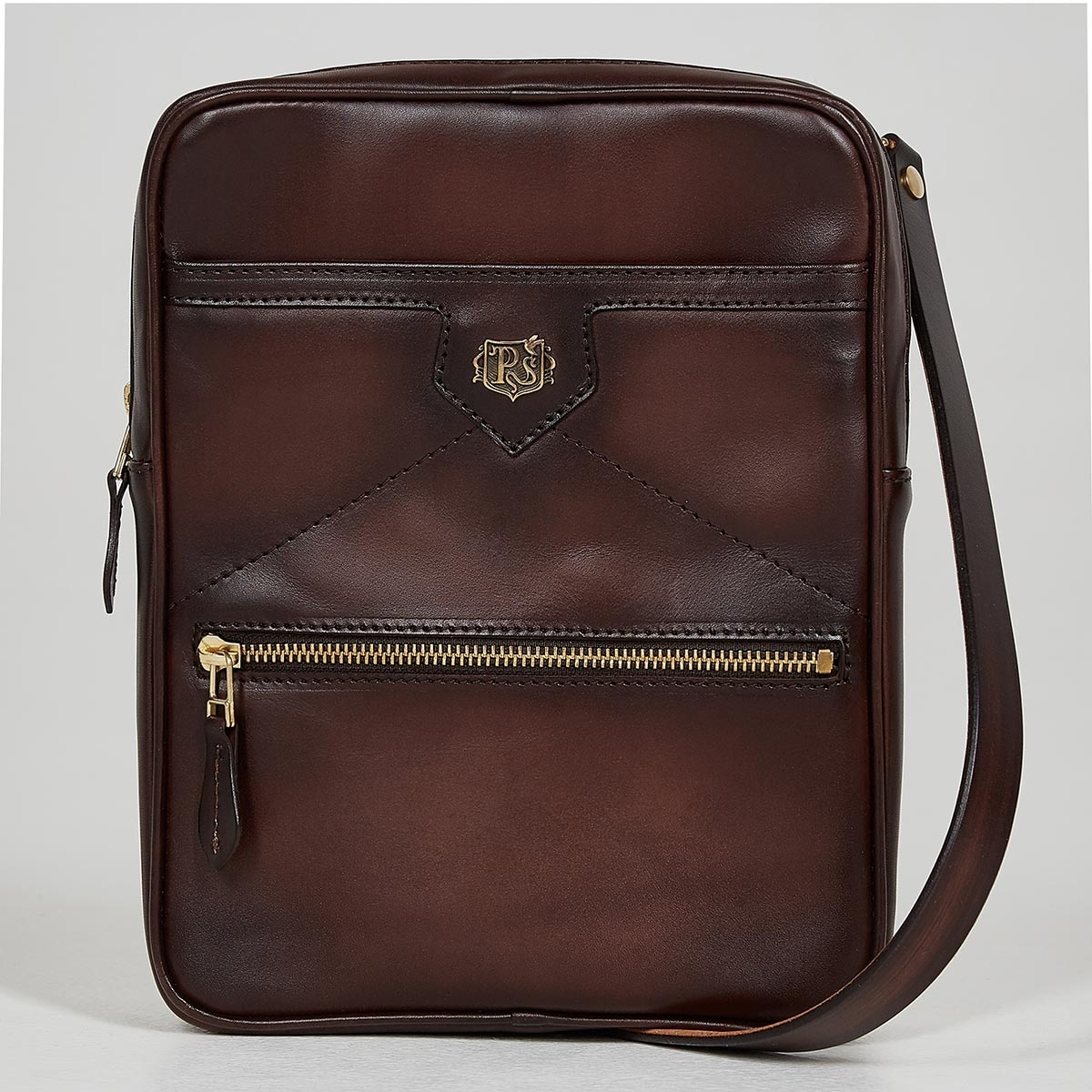 Crossbody bag MEZZO brownie