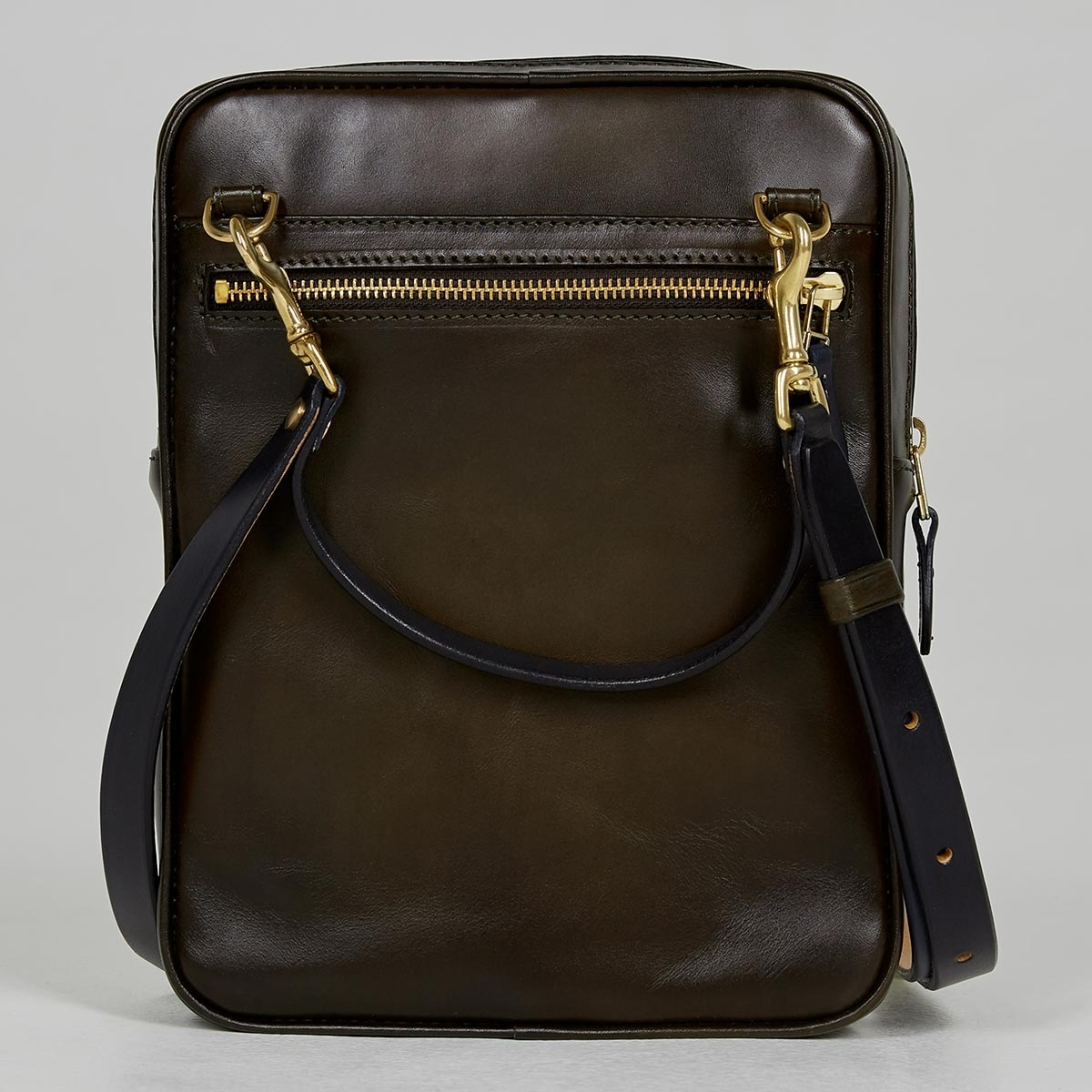 Crossbody bag MEZZO midnight blue & dark olive