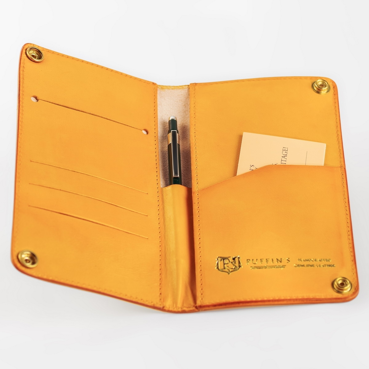 Long wallet LONG ISLAND bright mustard