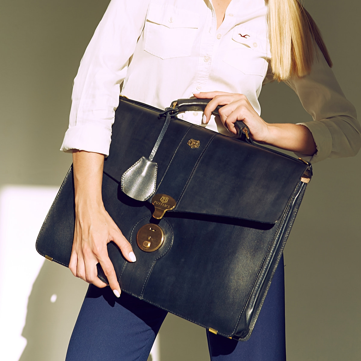 Briefcase CLASSIC NUMBER ONE midnight blue