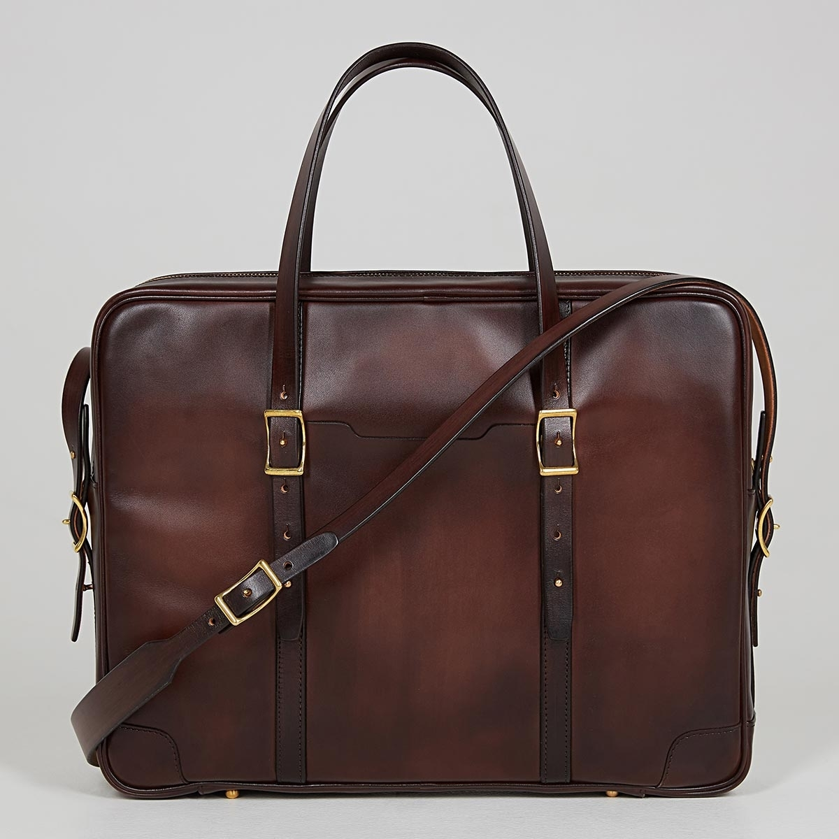 Briefcase  DAPPER 17'' brownie