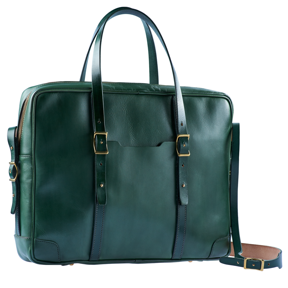 """портфель dapper 17"""" зеленый травяной"""