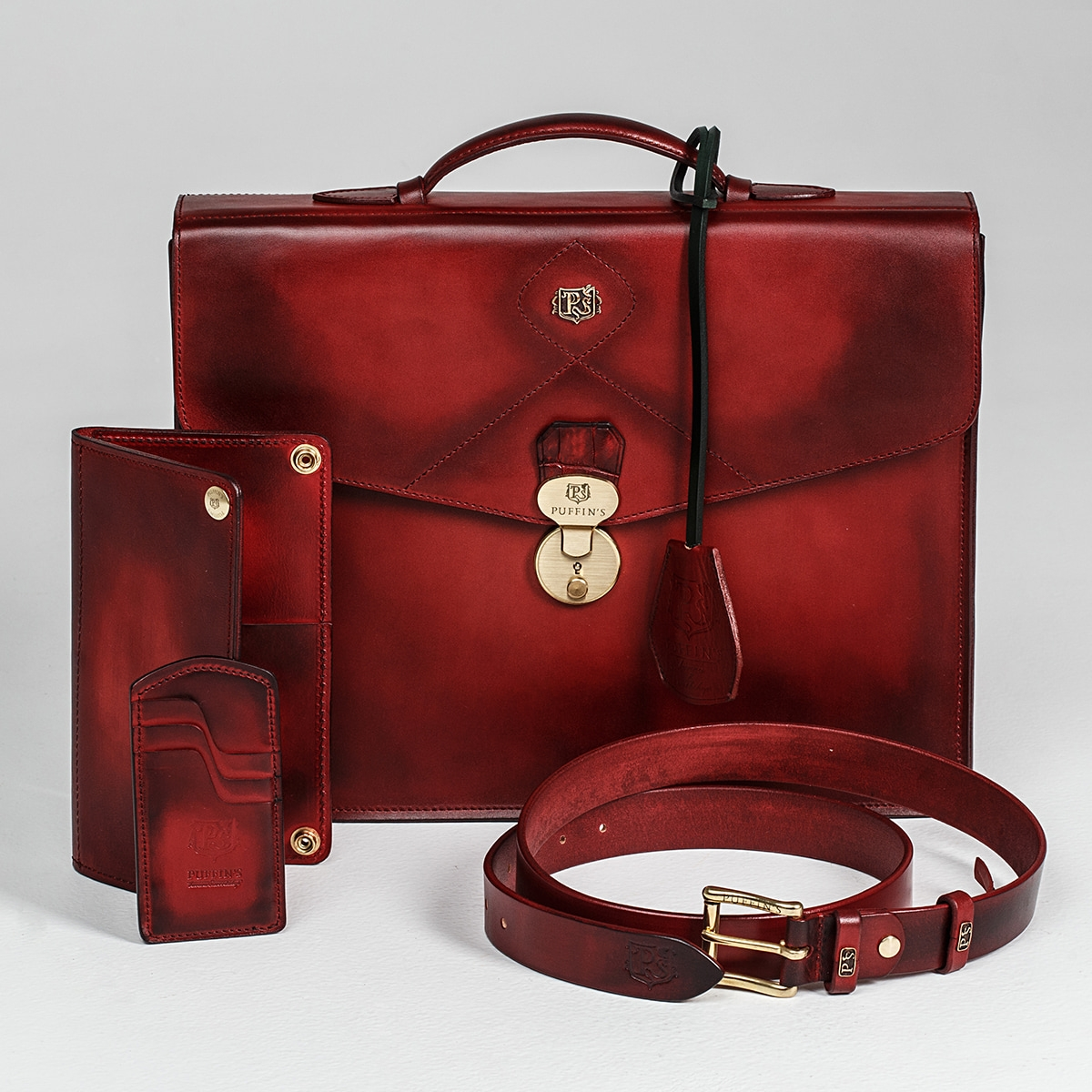 Long wallet LONG ISLAND red currant