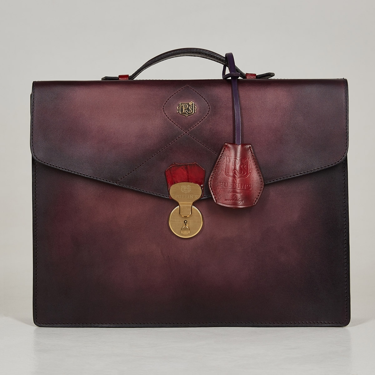 Briefcase ELEGANCE red currant & plum wine