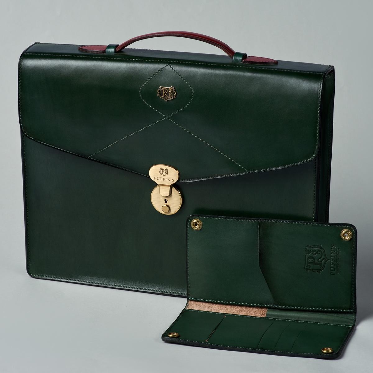 портфель elegance красная смородина & зеленый травяной