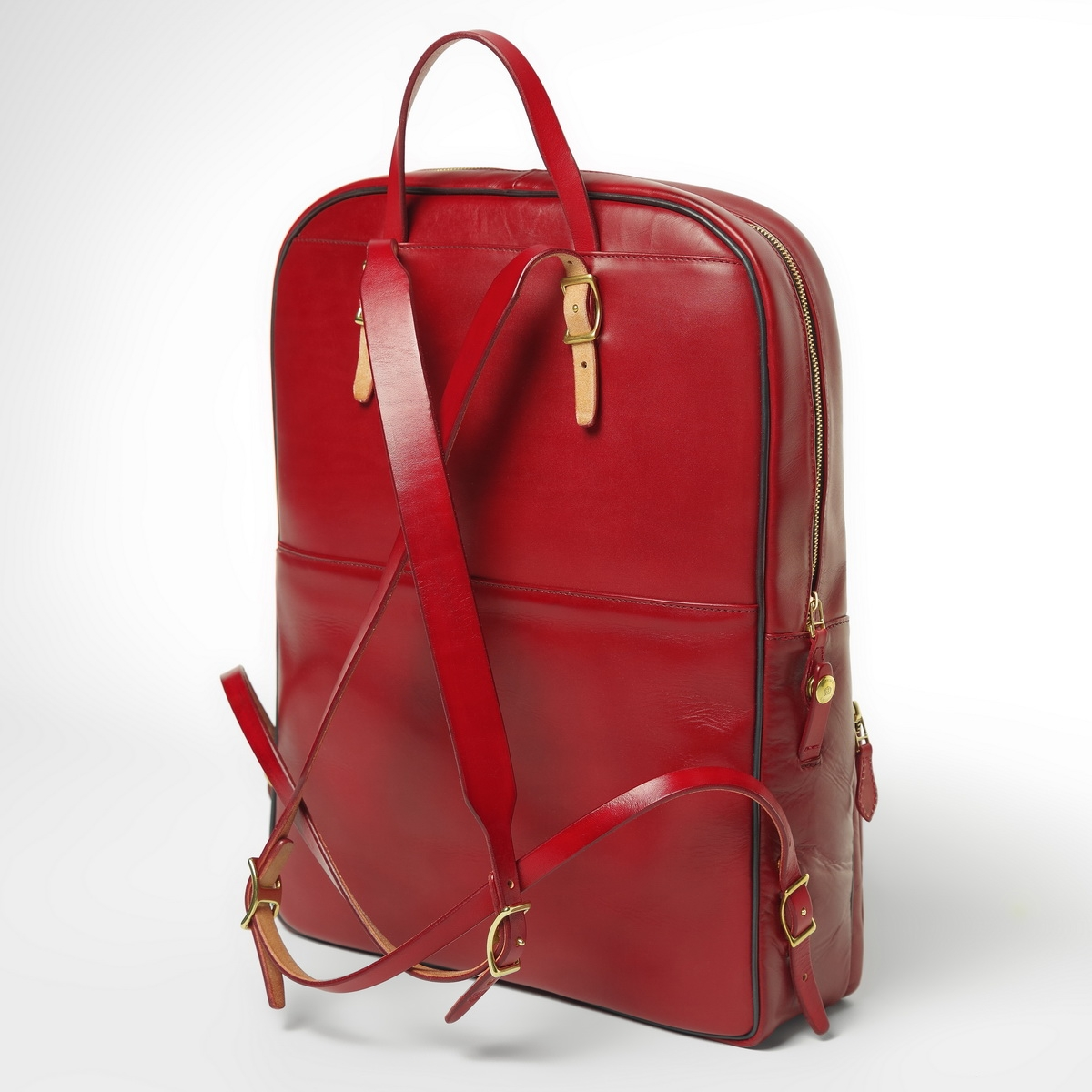 Backpack GRAN TURISMO 17'' red currant