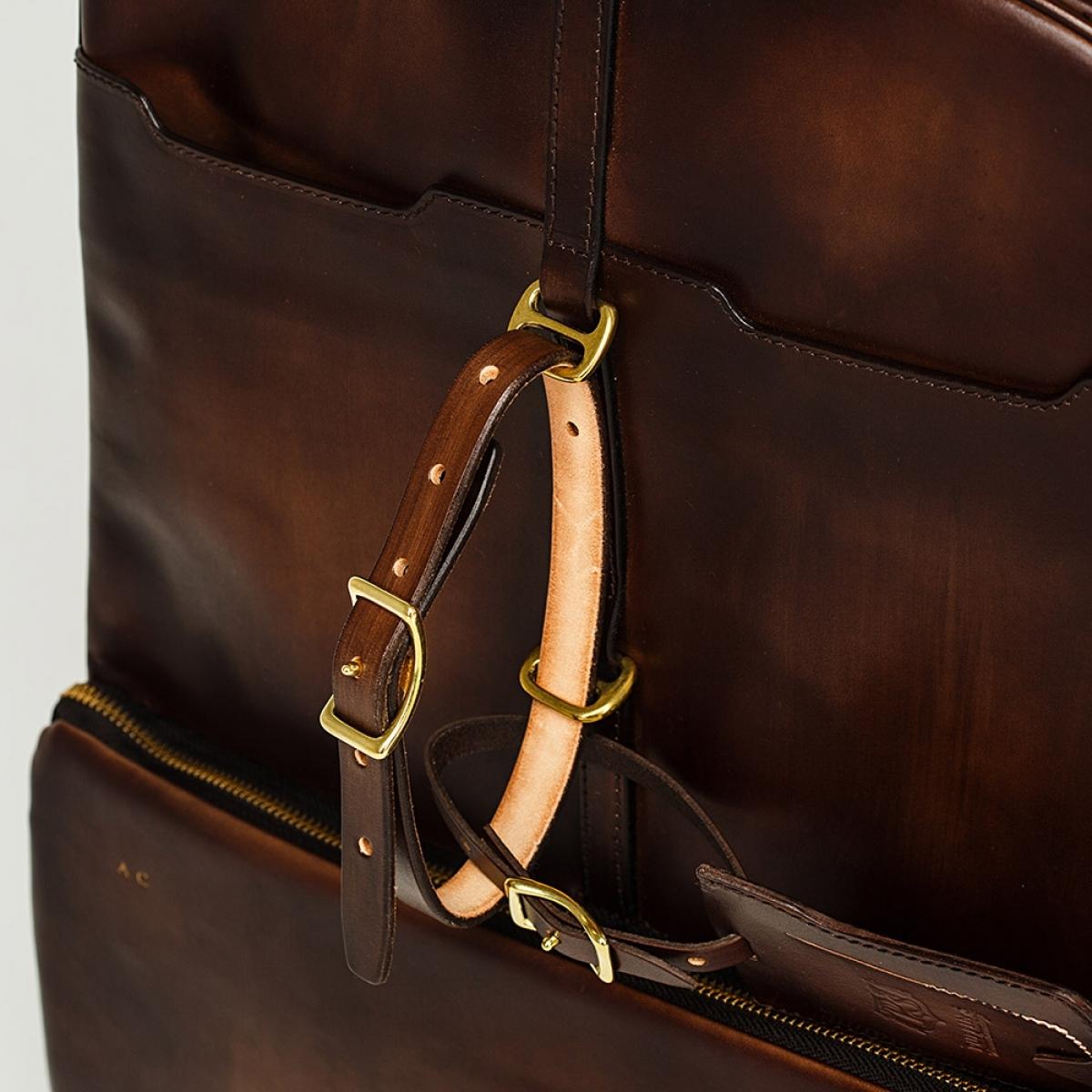 Backpack GRAN TURISMO 17''chestnut