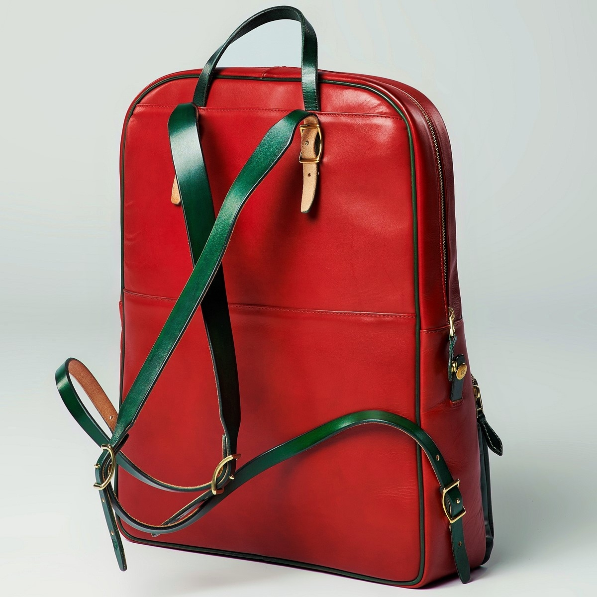Backpack GRAN TURISMO 17'' grassy green & red currant