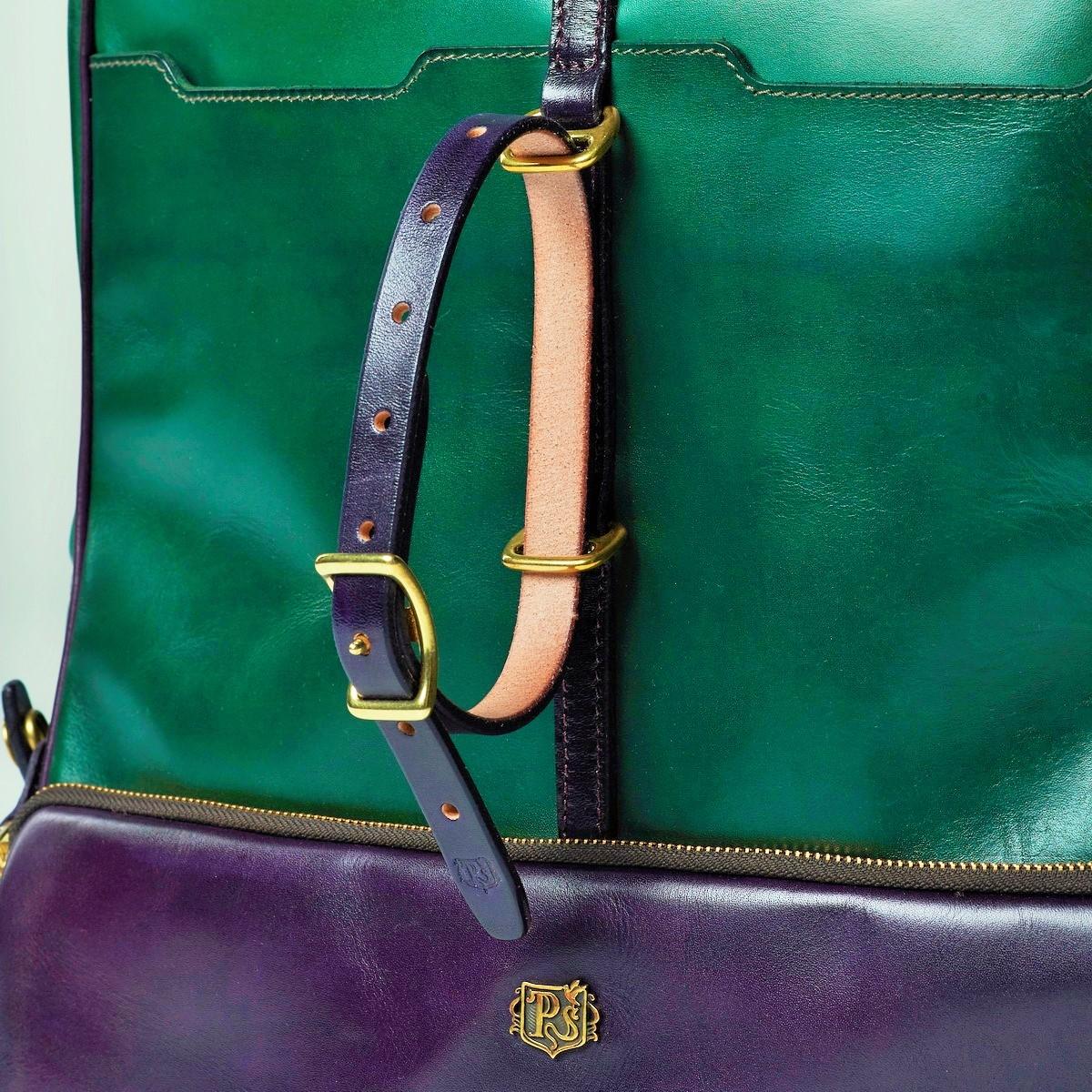 Рюкзак GRAN TURISMO 17'' чернильный & зеленый травяной