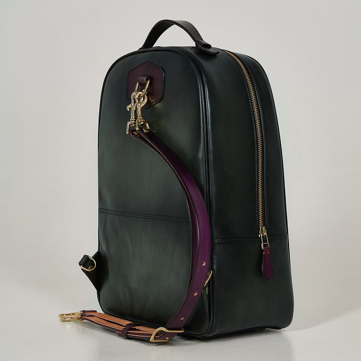 City backpack ASPEN plum wine & dark agave