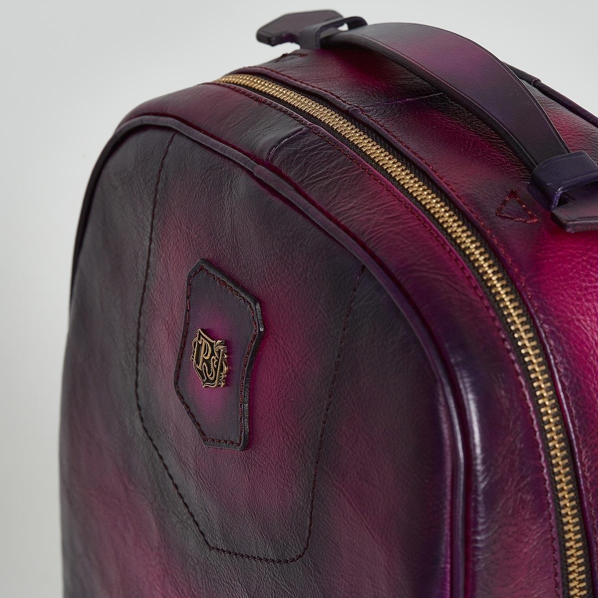 City backpack ASPEN violet ink & magenta