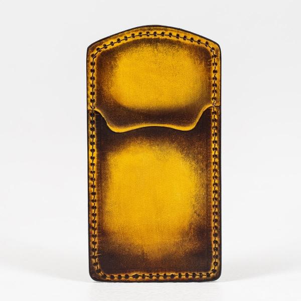 Cardholder TOWER bright mustard