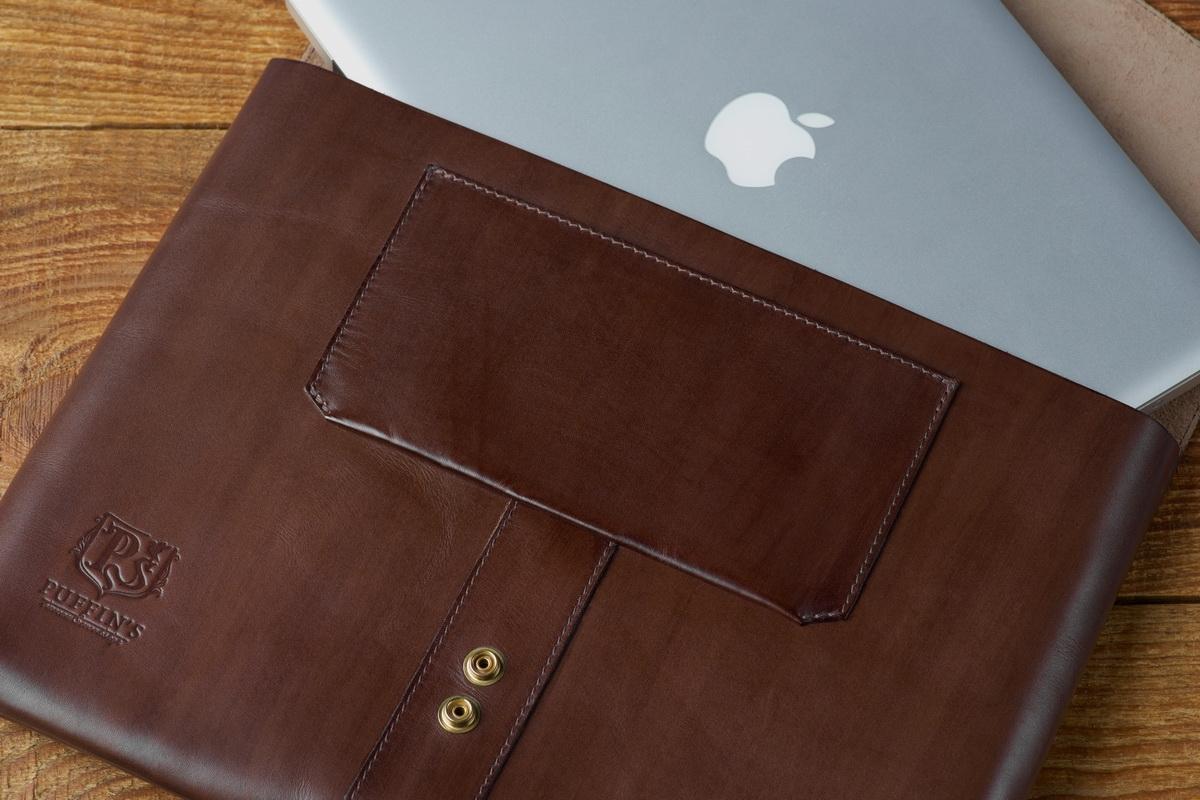 деловая папка для документов soho / чехол для macbook 13'' каштановая