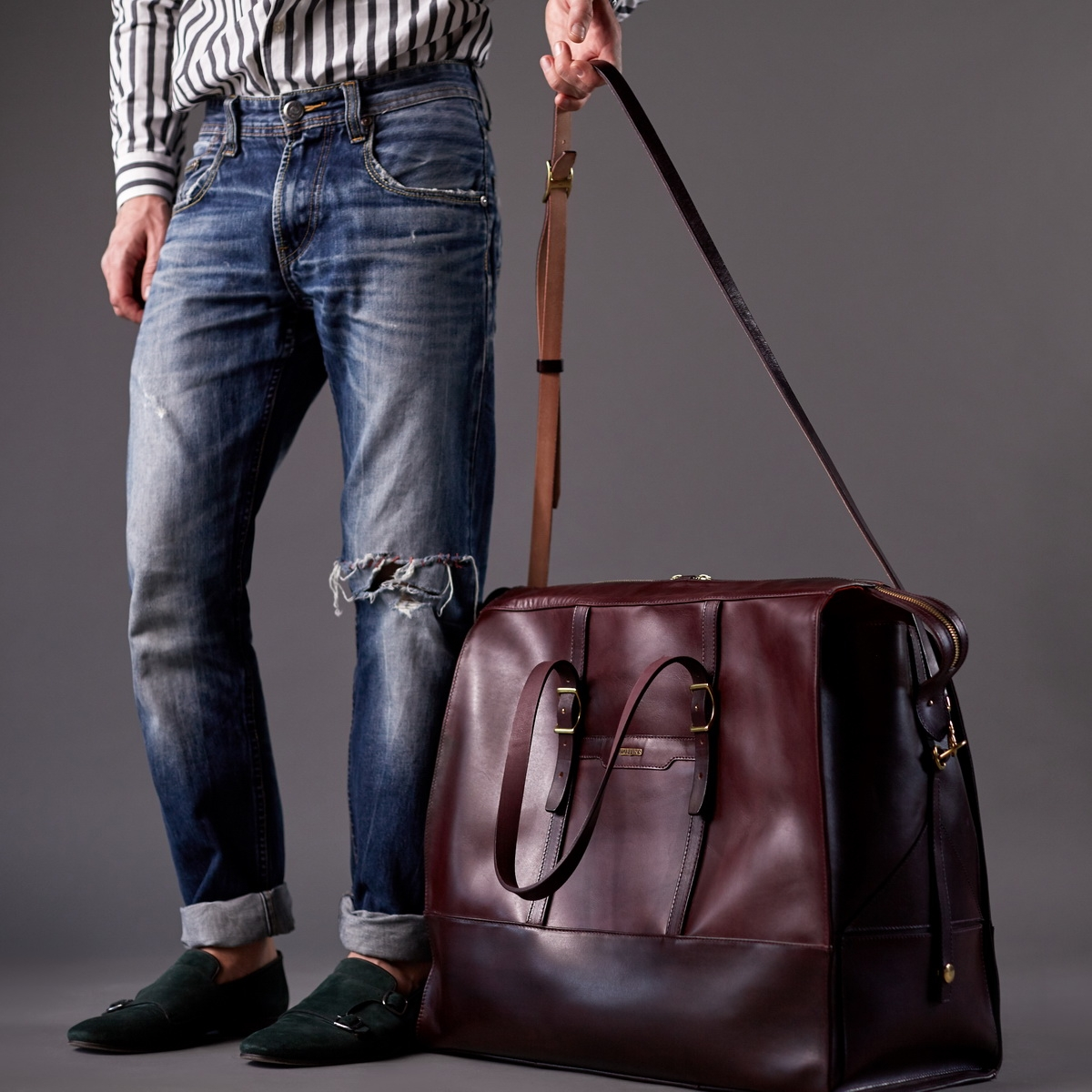 дорожная сумка weekender бордо