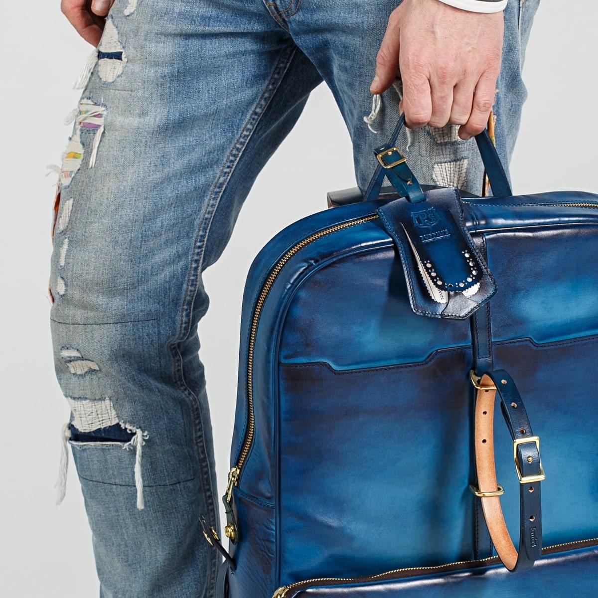 Luggage tag TAVARUA sapphire blue