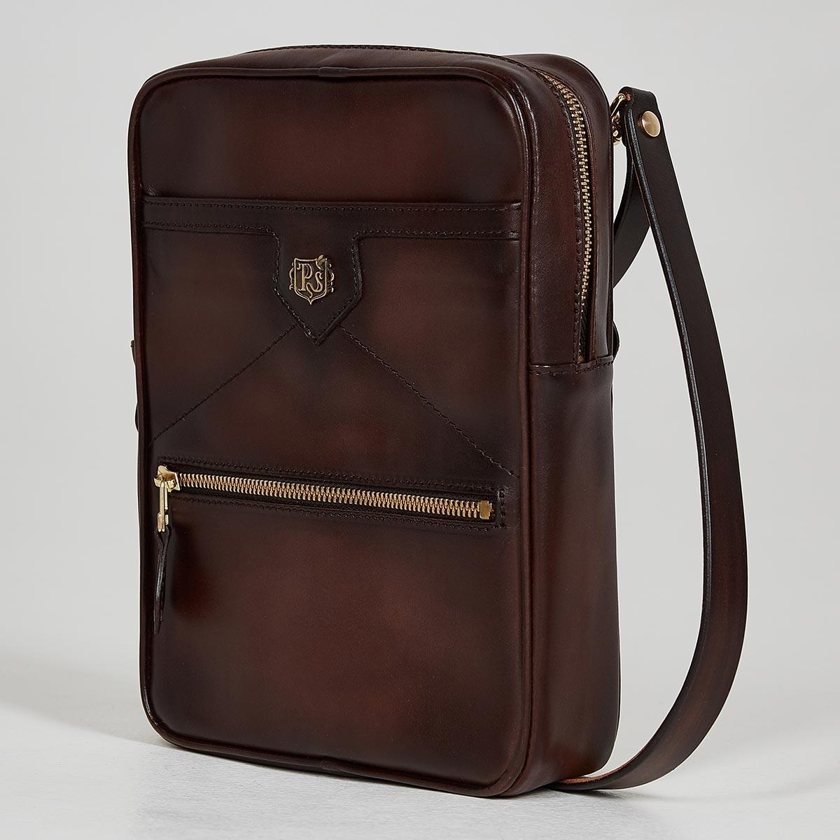 Crossbody bag MEZZO brownie