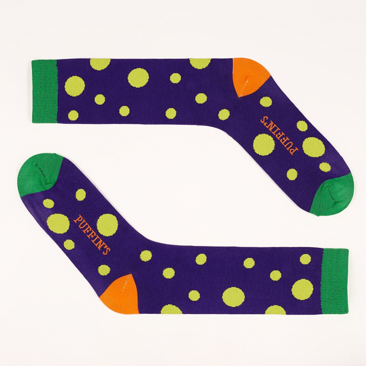 HAPPY WEEK. Set of 6 pairs colorful socks  LONG-series & gift box
