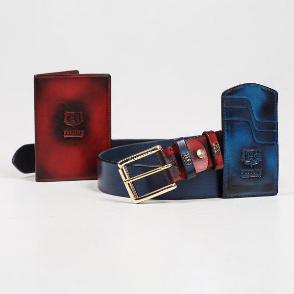 Cardholder TOWER sapphire blue